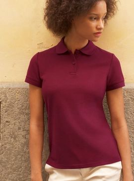 Fruit Of The Loom Ladies 65/35 Polo Shirt